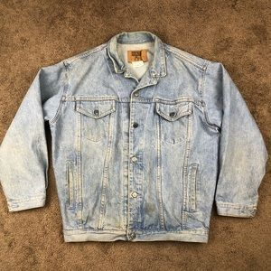 Vintage Gap USA Made Denim Jacket See Pics
